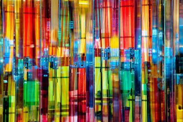 Prismatic Light in Glass by Eric Meola