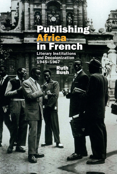 Publishing Africa in French Book Cover