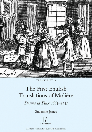 Book Cover of The First English Translations of Molière: Drama in Flux 1663-1732